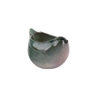 bird flowerpot green lille