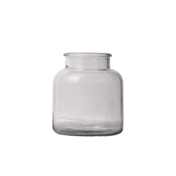 clear glas vase lille